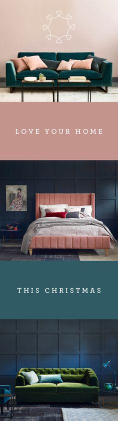 Earl grey sofa bed, jasper sofa alice bed, green sofa, christmas, velvet sofa, home design ideas, interior design ideas, living room design ideas, bedroom design ideas, living room interiors, bedroom design, pink bed, green sofa, pink and green design ideas,