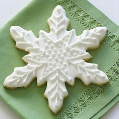 Brighten up store-bought sugar cookie dough with a bit of orange juice and zest. Get the Citrus Snowflake recipe: http://www.parents.com/recipe/cookies/citrus-snowflakes/?socsrc=pmmpin121212hocoCitrusSnowflakes