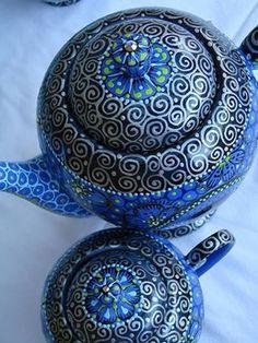 teiere blu
