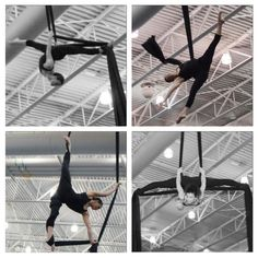 Aerial Silks splits