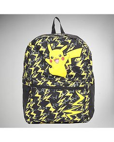 Pokemon Pikachu Top Zip Backpack - Spencer's
