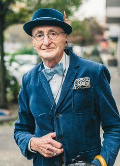 70歳(?)のおじいちゃんのファッションが驚きのカッコ良さ「これは真似したい」と話題に - Togetterまとめ