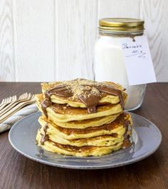 gr - Food that makes me happy -Myblissfood. Finger Foods, Pancakes, Brunch, Cooking, Breakfast, Sweet, Recipes, Baking Center, Crepes