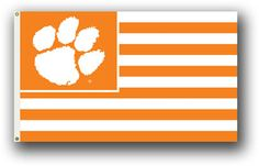 Show everyone that you are a die-hard fan by hanging up this 3-foot x 5-foot Collegiate flag from B.S.I Products. This officially licensed flag is made of durable, 100% polyester and is designed with 2 heavy-duty metal grommets so it is easy to hang. This high-quality flag is decorated in the team colors and proudly displays the official team graphics in the center.
