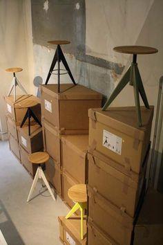 Scatti dal FuoriSalone: Porta Romana Design, vista da Stefano Cagnetta. Atelier chair by Pigr
