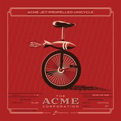 ACME Inventory Print | Jet Propelled Unicycle