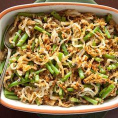 Thanksgiving Green Bean Casserole Recipe