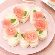 Jello Recipes, Cheesecake Recipes, Dessert Recipes, Cute Food, Good Food, Yummy Food, Delish Kitchen, 3d Jelly Cake, Dessert Boxes
