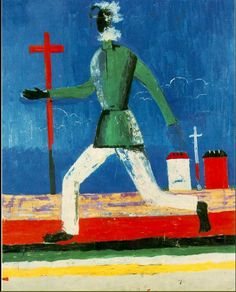 Kazimir Malevich The Running Man, 1932-1933