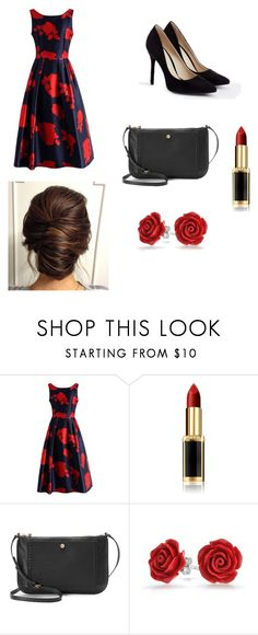 """""""Prom/formal dance outfit"""" by skoochie2 ❤ liked on Polyvore featuring Chicwish, L'Oréal Paris, LC Lauren Conrad, Bling Jewelry and JustFab"""