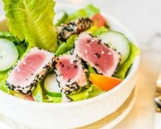 Healthy Cooking, Healthy Recipes, Yummy Food, Tasty, Salad Sandwich, Salad Bar, Tuna, Food Inspiration, Entrees