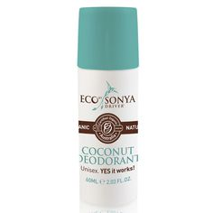 Eco Tan Organic Deodorant - Recommended by Generic Store Lady
