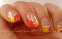 "[ * ImaginationNAILart * ] Nail Art ""Fluo Party"""