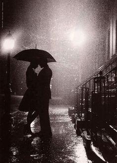 Late night rain...