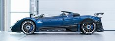 the pagani zonda HP barchetta is a 20 million euro series supercar