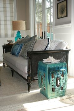 Living room accents -Stacia Dunnam Design