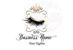 makeup logo – Hair and beauty tips, tricks and tutorials Vector Logo Design, Custom Logo Design, Custom Logos, Beauty Logo, Beauty Bar, Eyelash Extensions Styles, Eyelash Logo, Lashes Logo, I Shop
