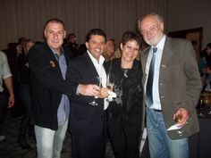 Miguel Luiz Medeiros, Revista Quasar Turismo, Ivânio Morales, Carla Olinski e Ayres Cerutti.