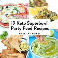 19 Keto Superbowl Party Food Recipes less 5 g net carbs - Sweetashoney 19 Keto Superbowl Party Food Recipes less 5 g net carbs - Sweetashoney<br> Superbowl Desserts, Healthy Superbowl Snacks, Keto Desserts, Keto Snacks, Low Carb Appetizers, Appetizer Recipes, Party Recipes, Appetizer Ideas, Keto Recipes