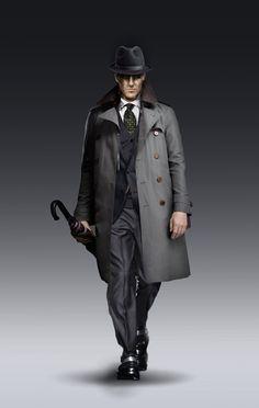 Film Noir – Detective Character designs - ITS ART