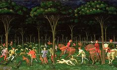 Paulo Uccello, The Hunt in the Forest (c.1465-70)