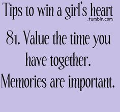 Tips to win a girl
