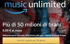 LInfinitoWeb: Amazon music gratis: come funziona?