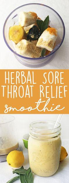 Sore Throat Smoothie