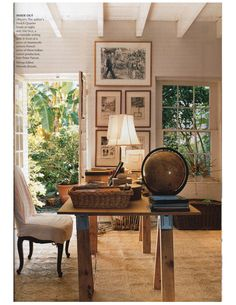 Julia Reed's former New Orleans pad photographed by Francois Halard, Vogue, February 2001. stylecourt.blogsp...