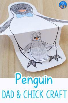 Free Printable Penguin Craft