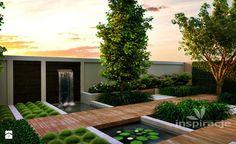 Nowoczesny ogród wodny - zdjęcie od Studio projektowe INSPIRACJE - Ogród - Styl Nowoczesny - Studio projektowe INSPIRACJE