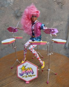 Raya Alonso - Jem and the Holograms doll integrity toys fr fashion royalty