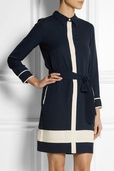 Diane von Furstenberg Cadence silk shirt dress, $400 on Net-A-Porter