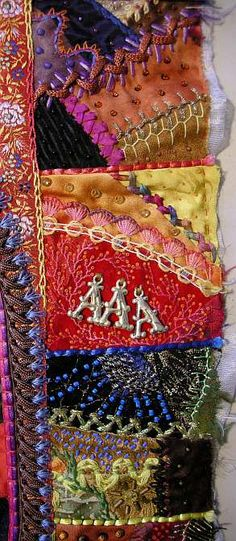 Allie's in Stitches: Beading the Border Blocks, Part 4