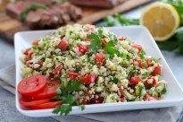 Cauliflower Tabbouleh Salad - The Real Food Dietitians