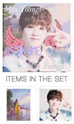 """SUGA ICON"" by septiplier-supporter ❤ liked on Polyvore featuring art"
