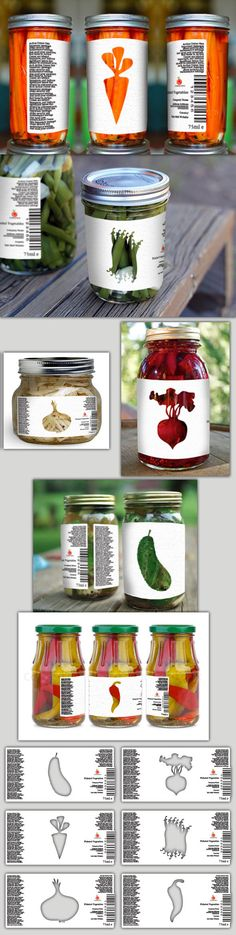 Transparent Labels by Mihaly Molnar Megyeri, via Behance