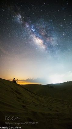 Chasing the Stars  New moon nights are awesome!  Camera: Canon EOS 6D Lens…