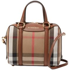 Alchester Small House Check Satchel
