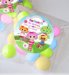 Rag doll party favour kits