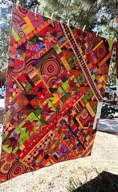 Humble Quilts...Kaffe Fassett fabrics