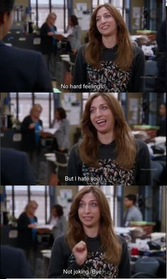 Brooklyn Nine Nine - Chelsea Peretti - She is by far the best part of the whole show.
