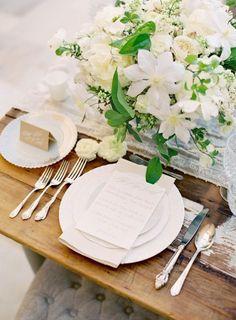 Elegant wedding table #wedding #decration