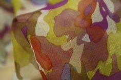 Lead The Way - Georgette Silk - Tessuti Fabrics - Online Fabric Store - Cotton, Linen, Silk, Bridal & more