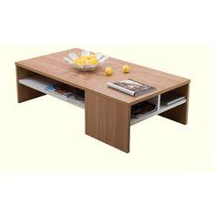 VIENNA diófa/fehér dohányzóasztal Ping Pong Table, Furniture, Home Decor, Decoration Home, Room Decor, Home Furnishings, Home Interior Design, Home Decoration, Interior Design