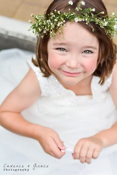 Bride's... never underestimate the cuteness of a flower girl :)