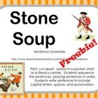 Unit 3 Week 1 The Real Story of Stone Soup I really wanted something to add to my week long unit on Stone Soup.  This freebie will work great in a pocket chart literacy center.  It helps wit...