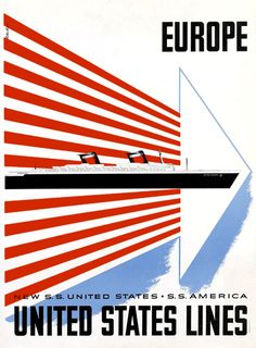 1952, Lester Beall : United States lines