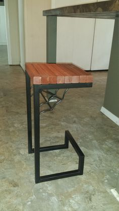 Metal Bar stool pair by AlexMetalArt on Etsy