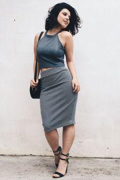 +40 formas de vestir cinza